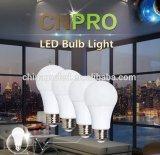 Venta caliente de la lámpara de la potencia AC120 LED de la energía 9W de la bombilla A60 A19 E27 del LED en lámpara del ahorro de la energía de los E.E.U.U.