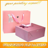 Gift di carta Bag con Ribbon Bow (BLF-PB065)