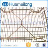 Impilamento della gabbia pieghevole galvanizzata del metallo di memoria