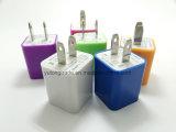 인조 인간 iPhone iPad를 위한 1마리의 1.0A 2.1A USB 이동 전화 충전기에 대하여 2