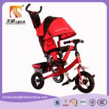 Трицикл ребенка трицикла младенца 3 цветов многофункциональный
