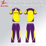 Las mujeres en línea de las compras de Healong venden al por mayor nuevos jerseys del grillo de la sublimación del diseño gráfico