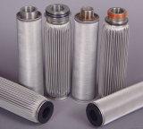 2018の熱い販売のステンレス鋼のプリーツをつけられたろ過材かフィルターシリンダー要素