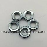 Classe Nuts mince 8 de l'hexagone DIN439 avec Cr3+ galvanisé M12