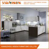 Modules de cuisine faits sur commande de PVC de blanc moderne pour la décoration de cuisine