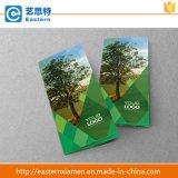 Напечатанные таможней буклет/листовка/каталог/рогулька печатание промотирования складывая