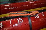 2つの車線の大人の運動場の適性装置の膨脹可能なバンジーの実行