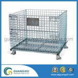 Съемные промышленных проволочной сетке контейнер для хранения