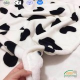 Het leuke Afgedrukte Patroon van de Koe werpt de Algemene Fabriek van de Baby van de Vacht van de Polyester