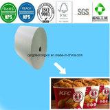 Nahrungsmittelgrad PET überzogenes Papier für das Kfc Verpacken der Lebensmittel