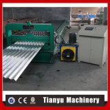Hot Sale de toiture en tôle acier ondulé galvanisé Tile Making Machine