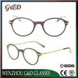 Het recentste Frame van de Glazen van het Oogglas Eyewear van de Acetaat van het Ontwerp In het groot Optische