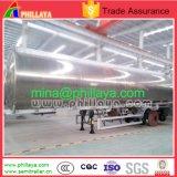 Dell'aria della sospensione dell'autocisterna rimorchio di olio combustibile di alluminio semi per il camion
