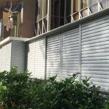 Protecção solar de alta qualidade paralela de tela de alumínio