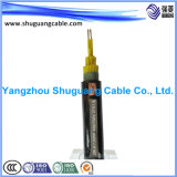 XLPE a isolé/câble de commande échoué/par Muti-Core/PVC engainé
