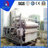 ISO9001 de la serie GT de deshidratación de lodos de tipo correa filtro usado en tratamiento de aguas residuales/carbón/comida/Pharaceutical Protección Andenvironmental
