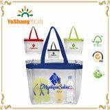 PVC 쇼핑 백 PVC 어깨에 매는 가방 공간 PVC 부대