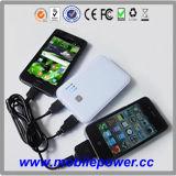 5000mAh 携帯用パワーバンク(電話用)