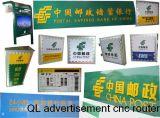 Tornillo competitivo de la bola de balanceo que hace publicidad del ranurador Ql1224 del CNC del grabador del CNC