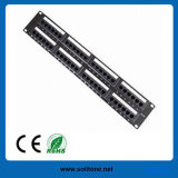 Cabo UTP CAT6 24port Patch Panel