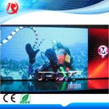 parete dell'interno del video della visualizzazione P4 LED della fase del passo LED del pixel di 4mm