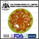 昇進の多彩な磁器の装飾的なエナメルの鋼鉄皿