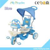 Reizende Dreiradförderung-Kind-Spielwaren des Baby-3wheels, die Fahrrad ausbilden