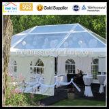 明確なスパンの玄関ひさしのテントを広告する透過結婚式と結婚する贅沢な塔の結婚披露宴の高品質の低価格アルミニウムフレーム