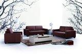 小さい角の居間のソファー現代ファブリックソファー