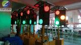 Indicatore luminoso di segnale solare mobile del LED Traffiv con controllo Th-Ftl108 di GPRS