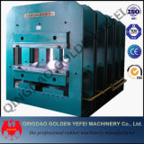 Máquina de vulcanización de la venta de la alta calidad de la prensa de goma caliente de la placa