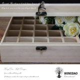 Caja de madera de Hongdao, caja de madera del aceite esencial