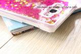 SamsungギャラクシーA7液体の砂の電話箱のための豪華な流砂の箱の携帯電話カバー