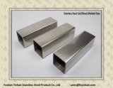 Tubo Quadrato-A forma di saldato dell'acciaio inossidabile