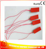 rubberVerwarmer van het Silicone van 10*25*1.5mm de Flexibele voor de Plaat van het Aluminium