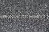 Paño de molienda, hilado teñido de T/R, tejido de poliéster de 63%33%4%de rayón Spandex, 265 gramos