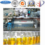 重油のためのプラスチック汚染の熱分解装置の取り引き