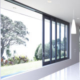 Feelingtop Power Coated Sliding Low-E Verre Aluminium Fly Screen Window