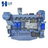 Diesel van Deutz WP13C van Weichai mariene motormotor met versnellingsbak voor vissersboot