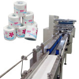 Rollo de servilleta totalmente automática Máquina de embalaje de papel tejido