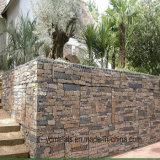 Diferentes tamaños de compensación de la pared de roca Gabion