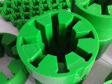 Tipo acoplamento de Falk R do poliuretano, acoplamento do plutônio com cor verde