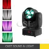 zoom LED 4 del fascio 3X15W in 1 indicatore luminoso capo mobile