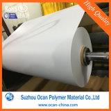 0.5mm Glanzend Wit van het pvc- Blad Geschikt om gedrukt te worden Wit pvc- Blad