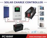 새로운 디자인 현재 조정가능한 PC1600 MPPT 태양 책임 관제사