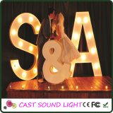 Shining Marquee LED Letter Stage Wedding Decoration