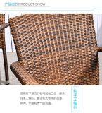 فناء [ويكر شير] [رتّن] كرسي تثبيت يتعشّى كرسي تثبيت كرسي تثبيت قابل للتراكم
