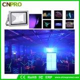 L'indicatore luminoso di inondazione UV esterno di 50W LED con l'alluminio della pressofusione