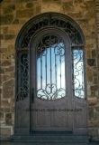 円形上カスタム功妙なデザイン錬鉄の出入口