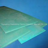 UHMW-PE verde Plate in Virgin 100% Material